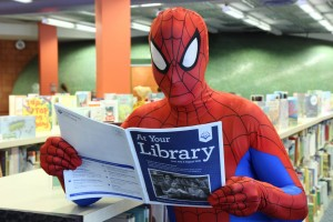 Spider-man librarian