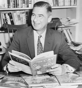 Photograph of Dr. Seuss