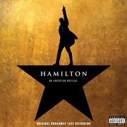 Album cover for the Broadway musical Hamilton