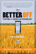 Book cover for better Off by Eric Brende