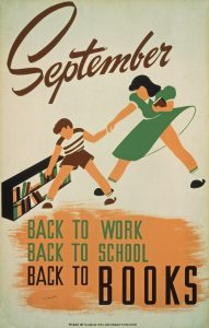 Vintage Work Projects Administration Poster from the Library of Congress