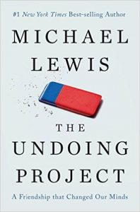 The Undoing Project by Michael Lewis book cover