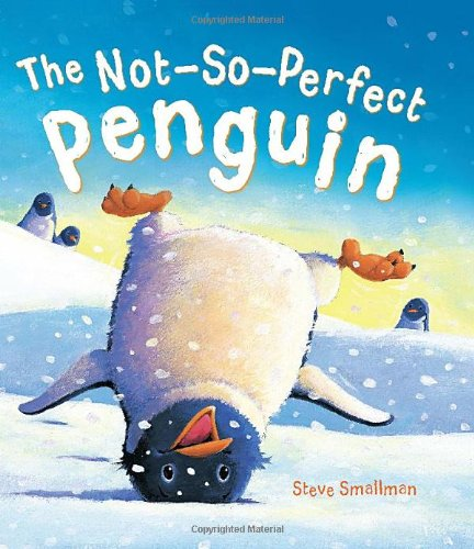 """""""The Not-So-Perfect Penguin"""" book cover"""