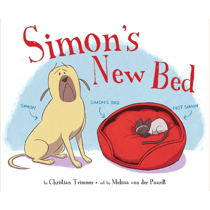 Simon's New Bed book cover