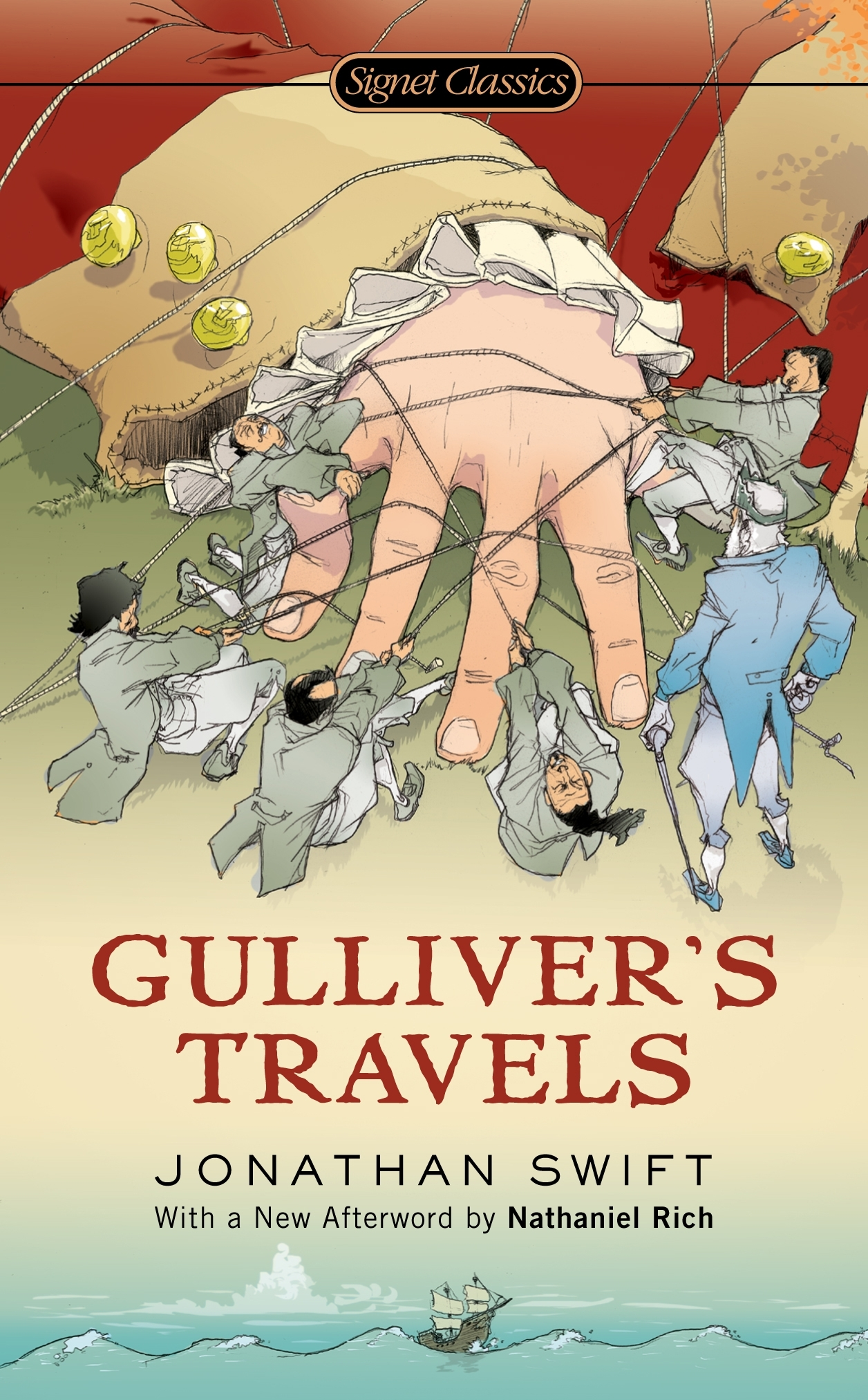 "book cover of ""Gulliver's Travles"""