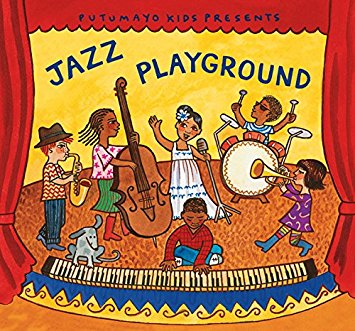 """Jazz Playground"" CD cover"