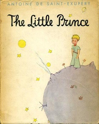"""The Little Prince"" book cover"
