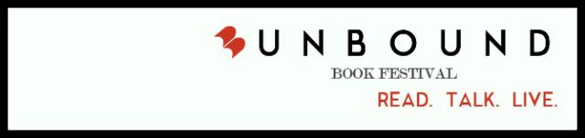 Unbound Book Festival banner