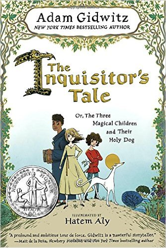 """The Inquisitor's Tale"" book cover"