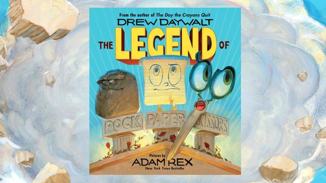 """The Legend of Rock, Paper Scissors"" book cover"