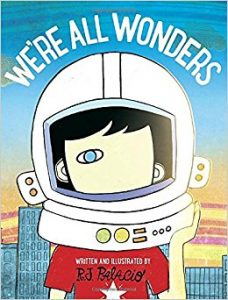 """We're All Wonders"" book cover"