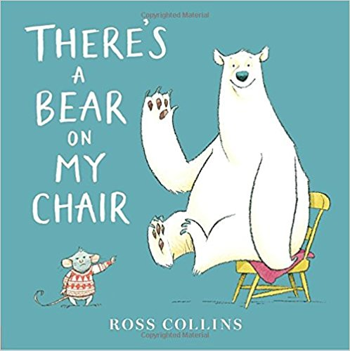 There's a Bear On My Chair book cover