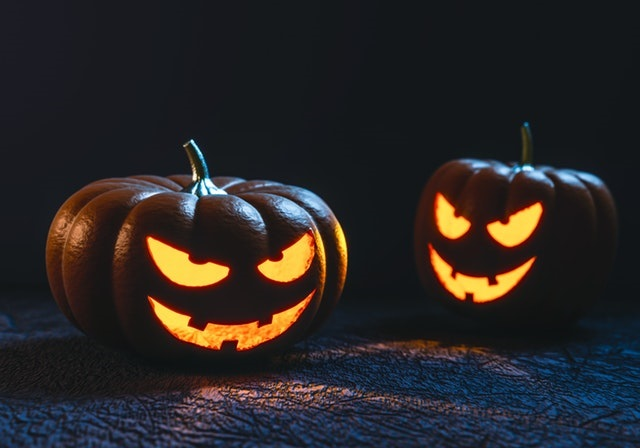 photo of jack-o-lanterns