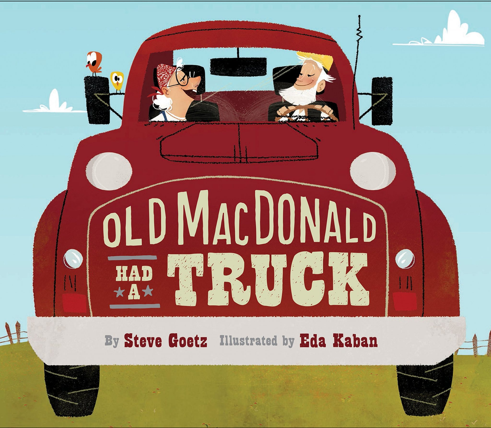 Old MacDonald Had a Truck book cover