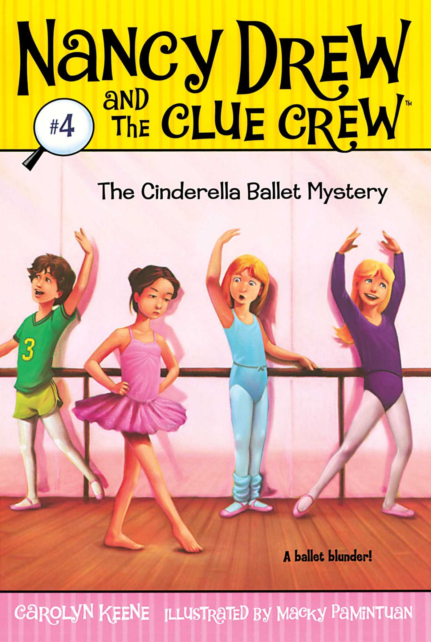 The Cinderella Ballet Mystery book cover