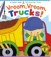"""Vroom, Vroom, Trucks!"" book cover"