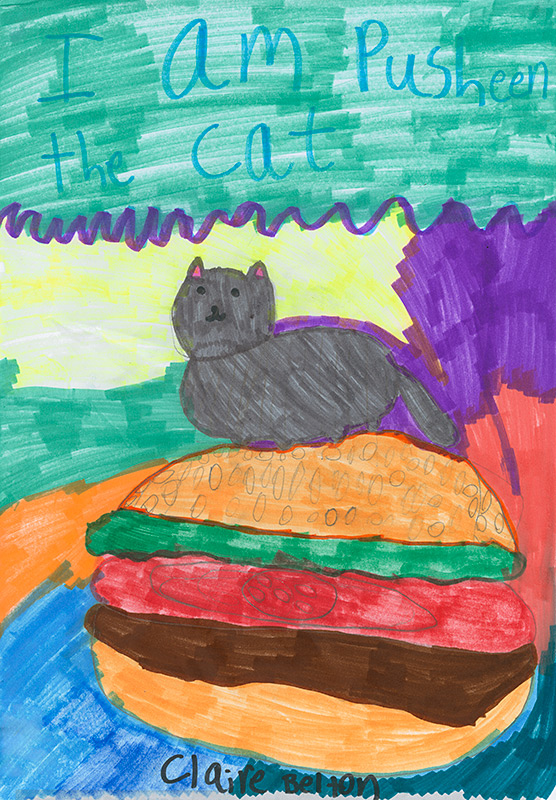 "Diana Koofer-Thompson, North Elementary - ""I Am Pusheen the Cat"" by Clair Belton"