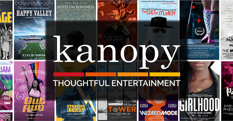 Stream Films With Our New Service – Kanopy
