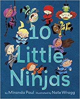 10 Little Ninjas book cover