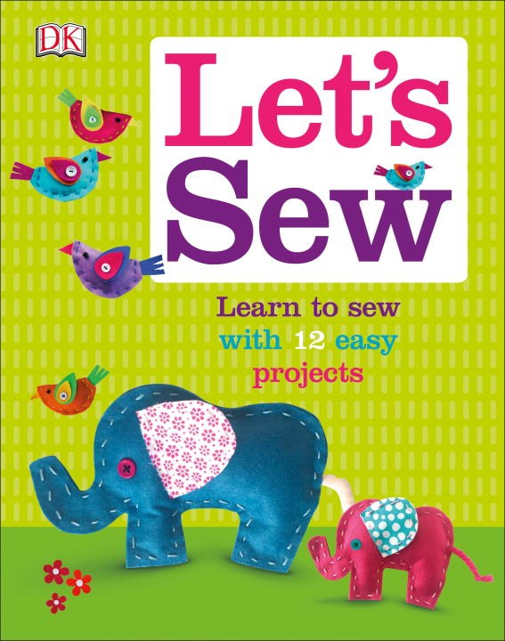 """""""Let's Sew"""" book cover"""
