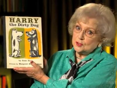 """Harry the Dirty Dog"" read by Betty White"