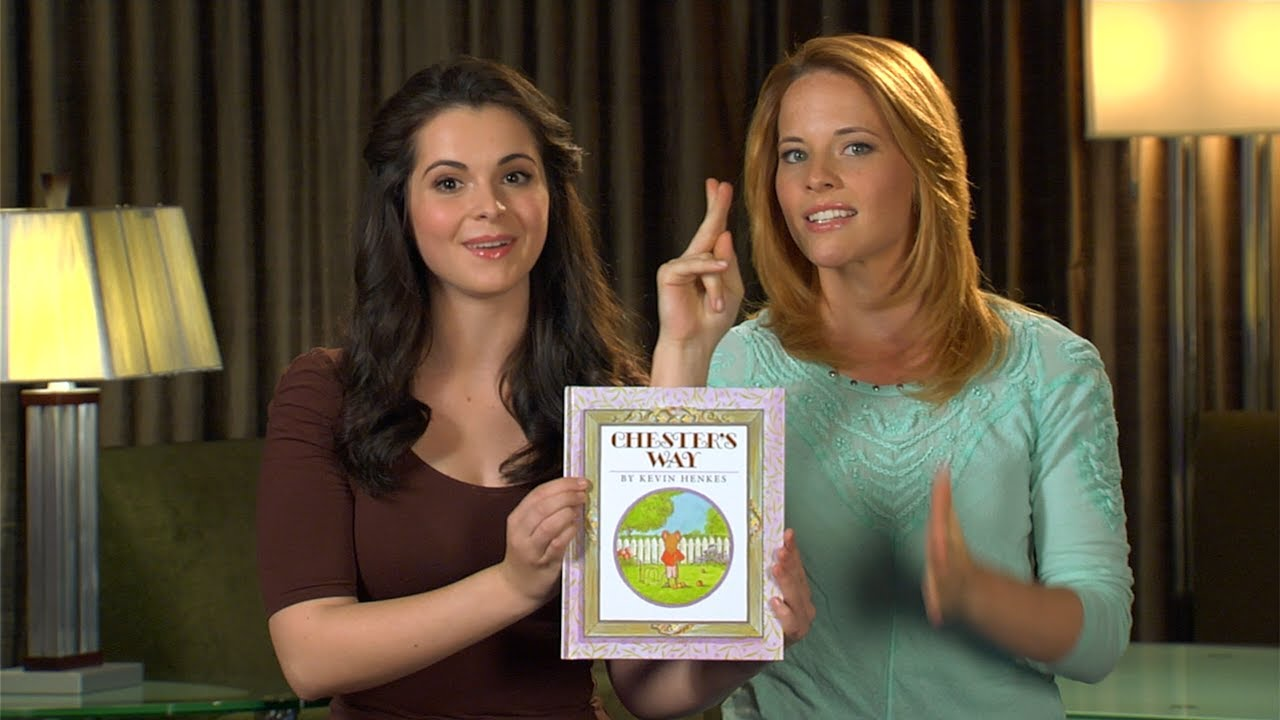 """""""Chester's Way"""" read by Vanessa Marano and Katie Leclerc"""