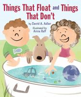 "Book cover of ""Things That Float and Things That Don't"" by David Adler"