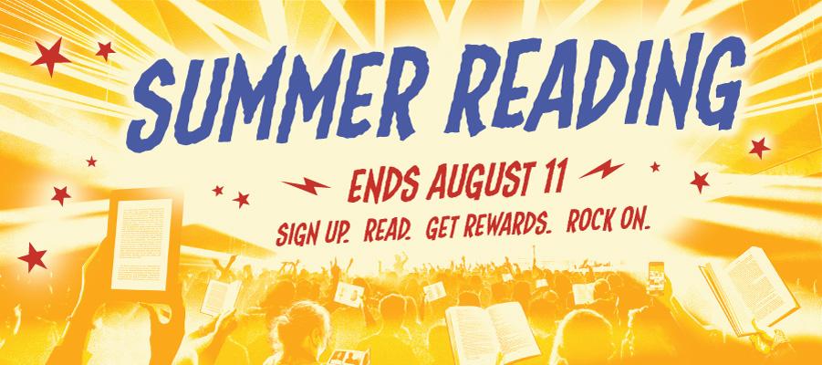 Summer Reading starts May 30.