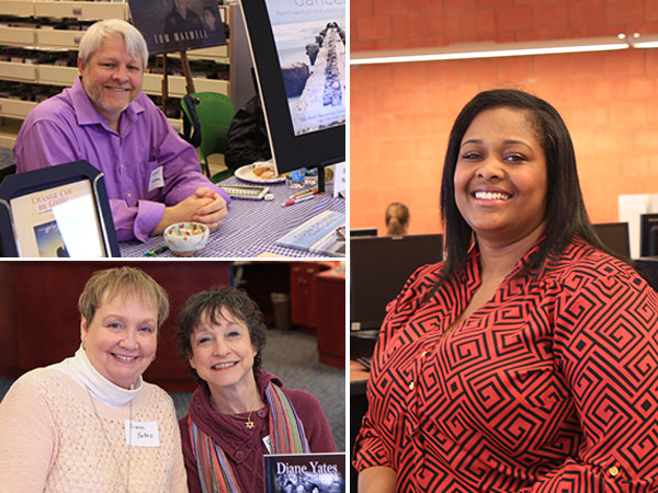 local authors at the Columbia Public Library