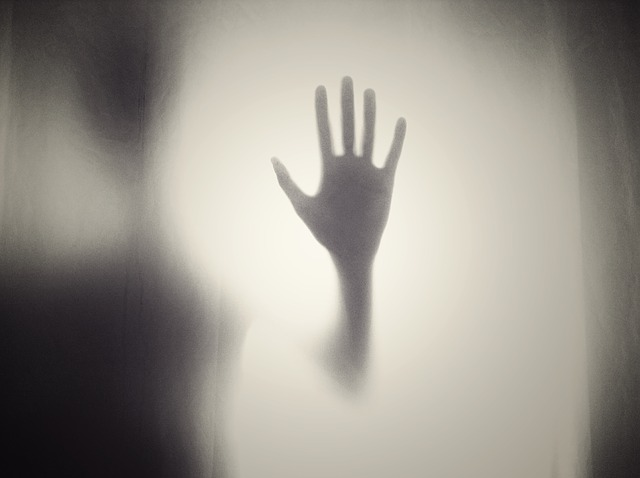 Creepy Horror Silhouette Scary Hand Help