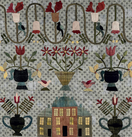 Manor House quilt by Dawn Heese
