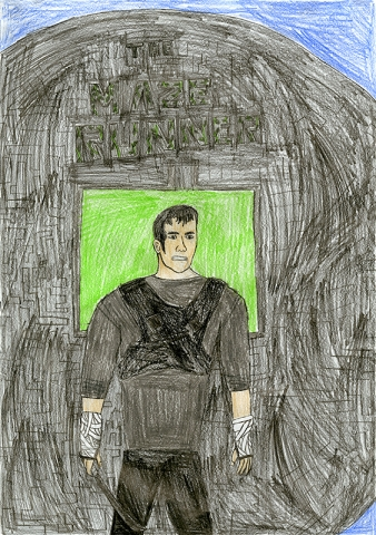 "Benjamin Haubner, Auxvasse Elementary - ""Maze Runner"" by James Dashner"