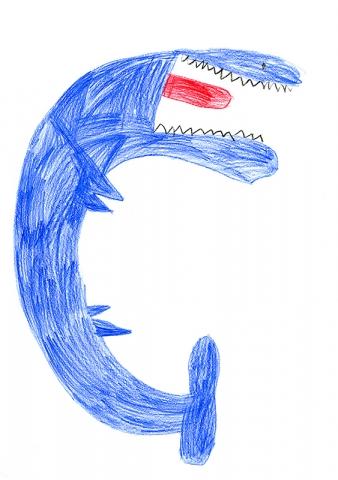 "Brock Bell, Hatton-McCredie Elementary - ""Mosasaurus Dinoblast"""