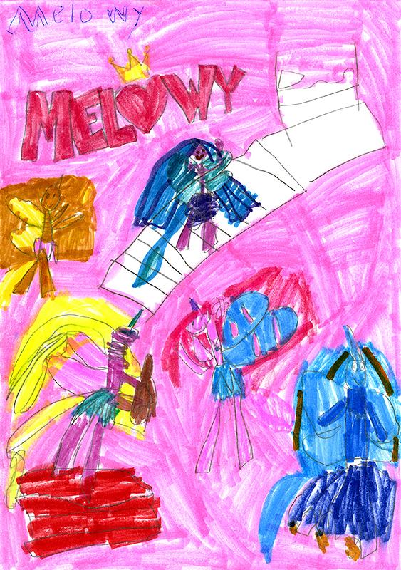 """Raelynn Danuser, South Callaway Elementary - """"Melowy"""" series by Danielle Star"""