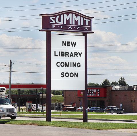 Summit Plaza sign
