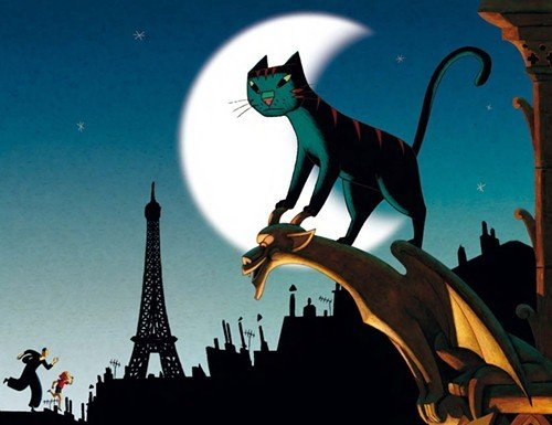 """A Cat in Paris"""