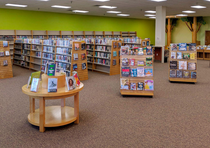 Holts Summit Public Library interior