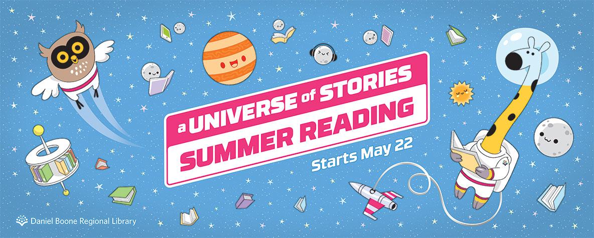Summer Reading begins May 22.