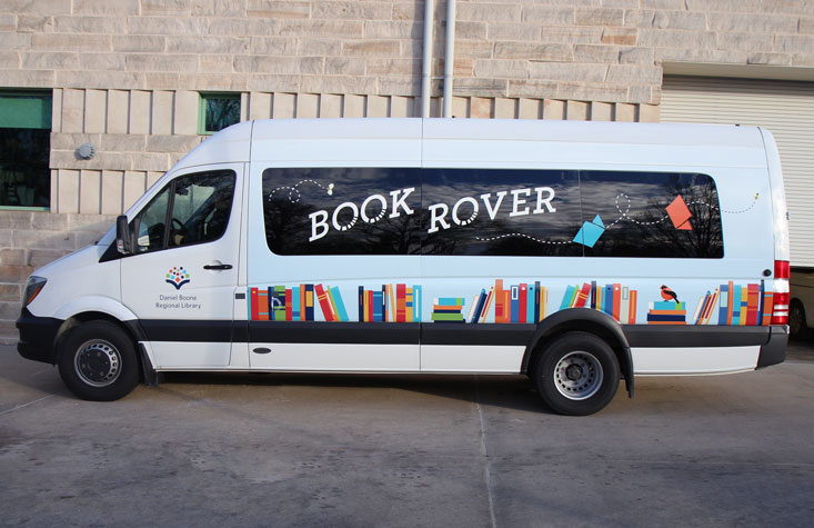 DBRL's new Book Rover