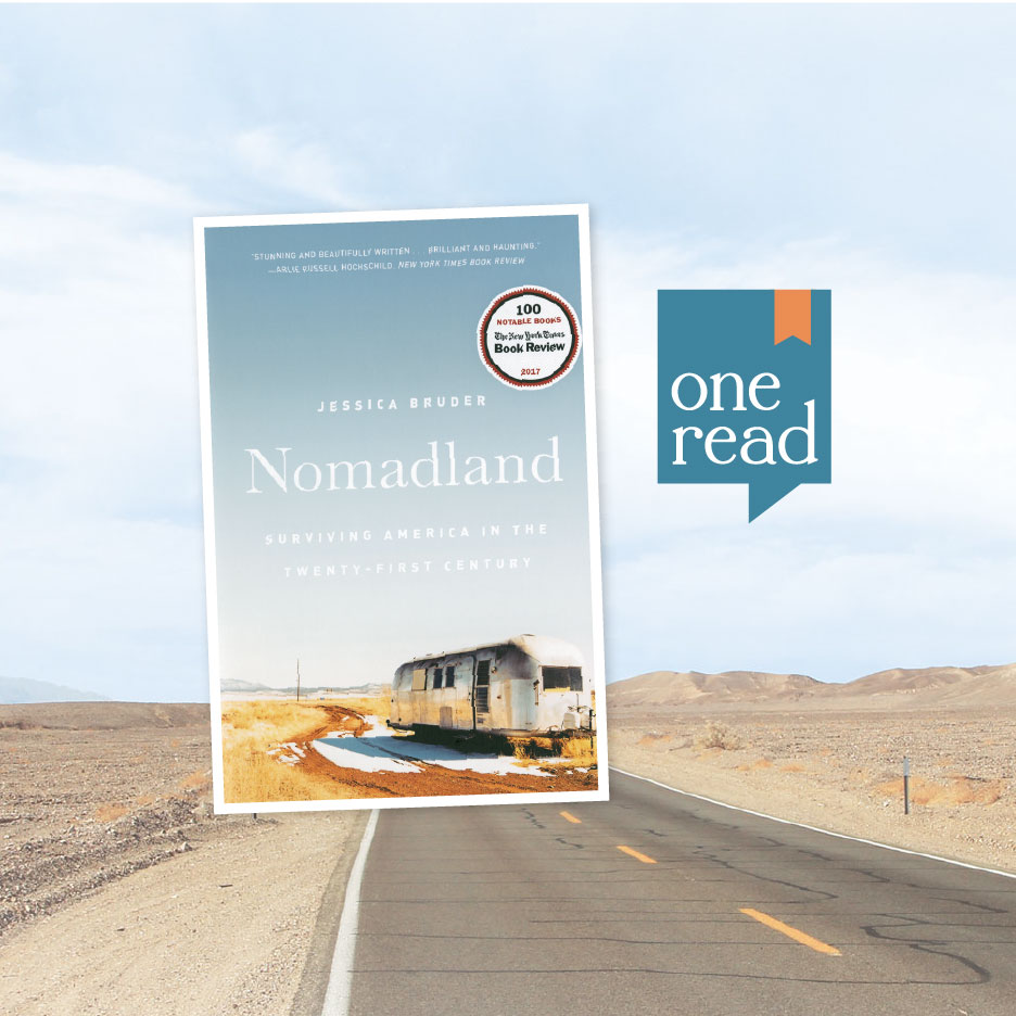 """""""Nomadland"""" Is the 2019 One Read Book"""