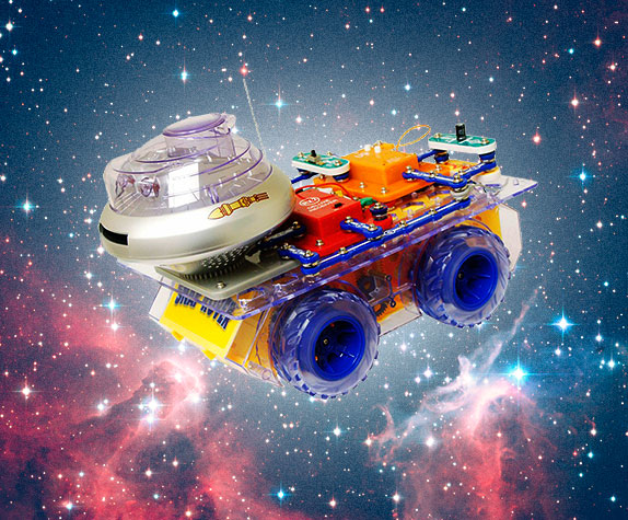 Snap Circuits in Space