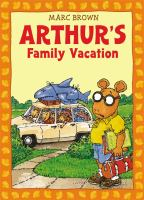 Arthur's Family Vacation Book Cover