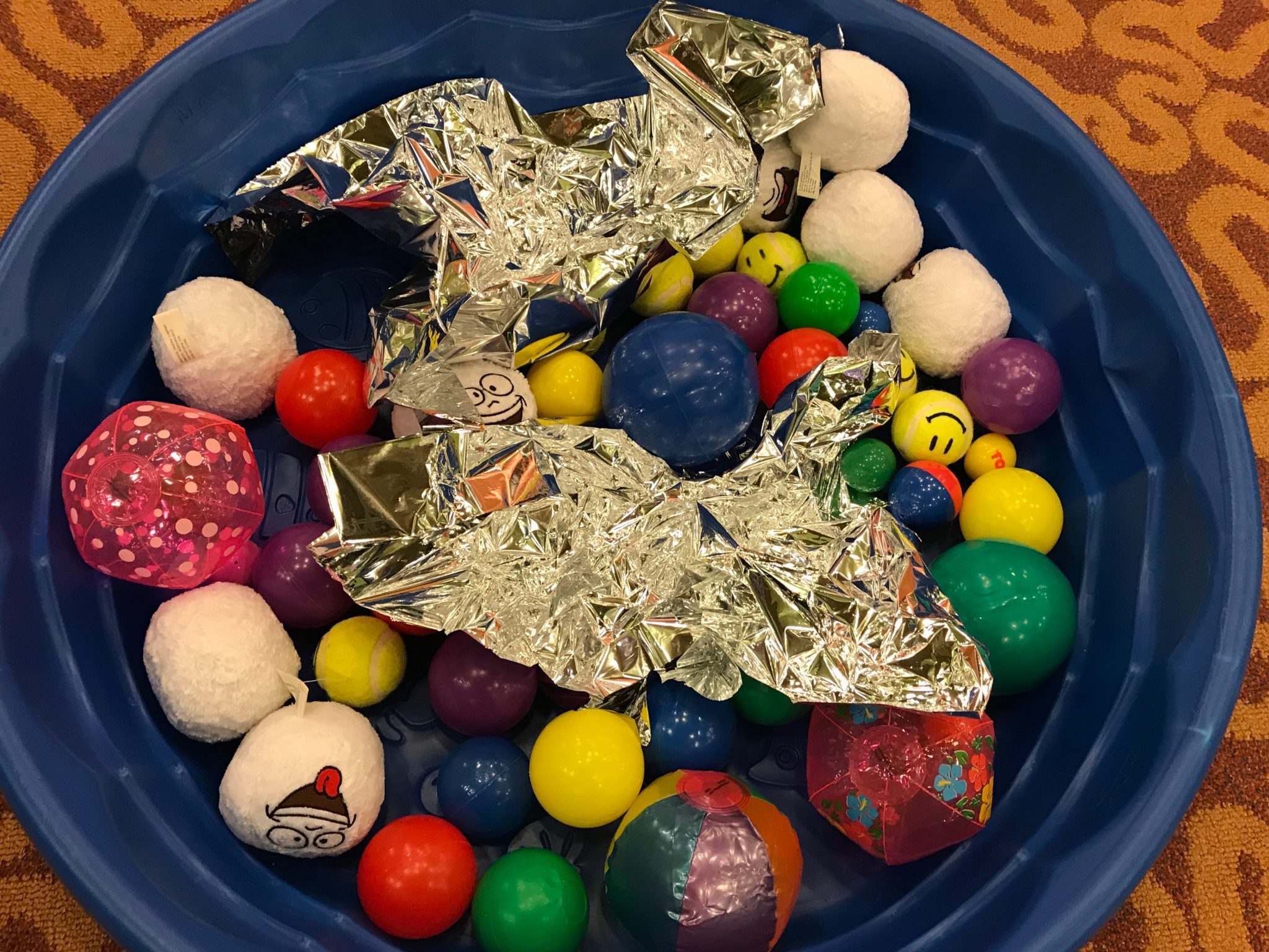 asteroid field ball pit