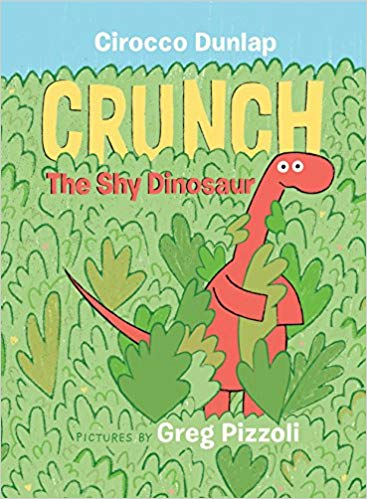 Crunch the Shy Dinosaur book cover