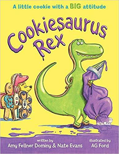 Cookiesaurus Rex book cover