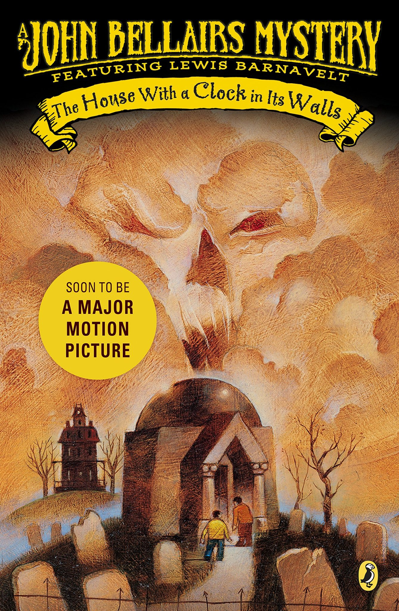 """The House With a Clock in It's Walls"" book cover"