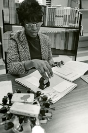 Stamping books, 1976