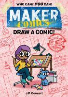 """""""Maker Comics"""" book cover"""