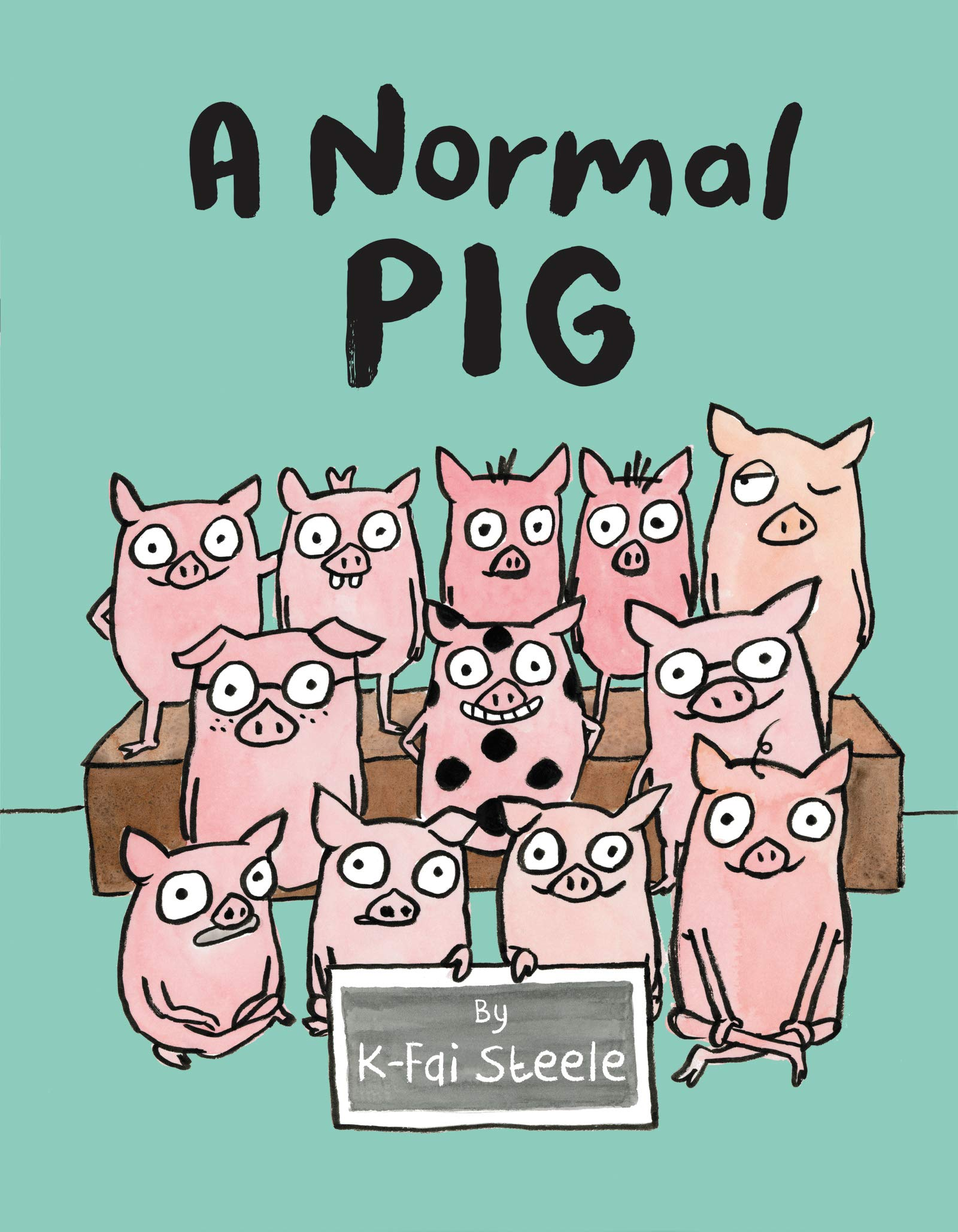 A Normal Pig book cover