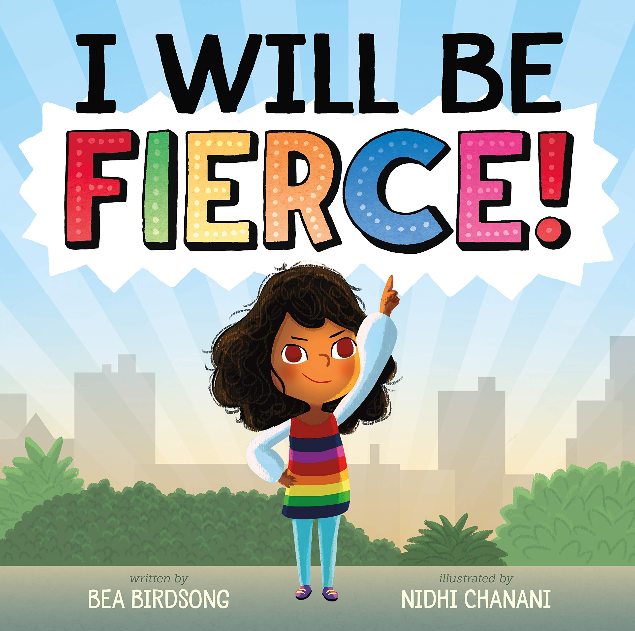 I Will Be Fierce book cover